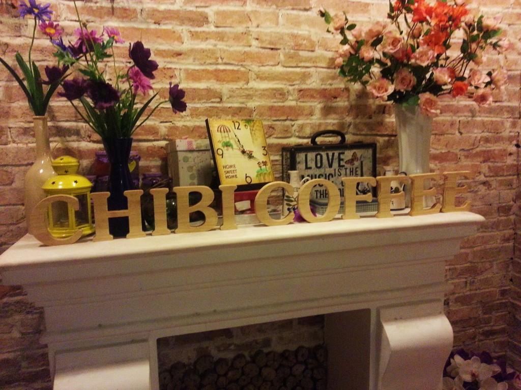 Fireplace in Chibi Coffee