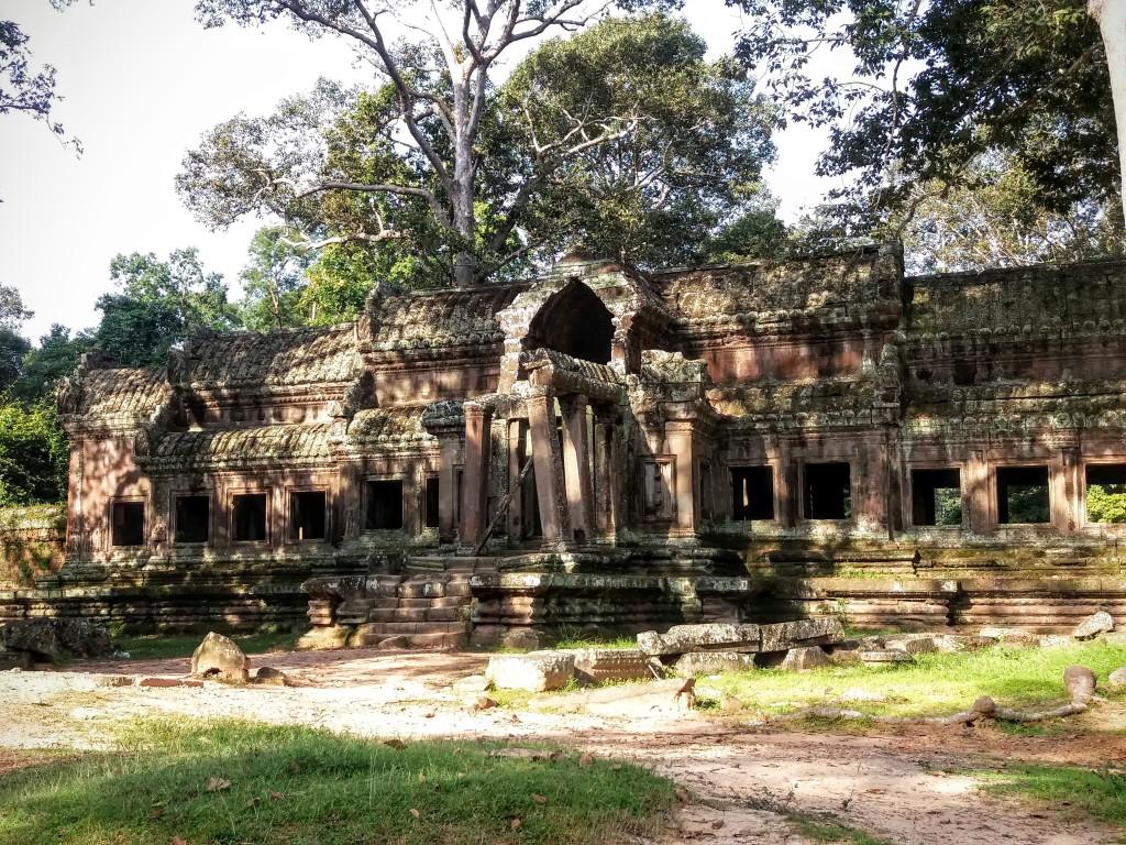 East Gate at Angkor Wat