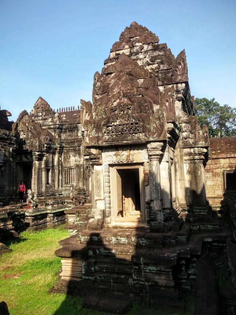 Interior of Banteay Samre