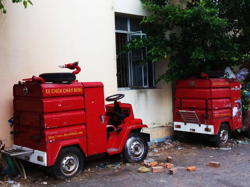 Long Xuyen Fire Trucks